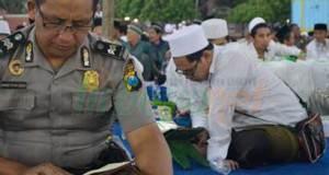 Santri Lirboyo Bersama Kapolda Jatim